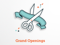 Grand Openings Icon