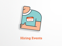 Hiring Events Icon