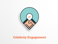 Celebrity Engagement Icon