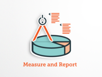 Measure And Report Icon