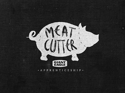 Meat Cutter Apprentice Logo 3 meat cutter logo butcher apprentice knife cleaver