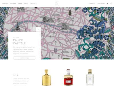 Cosmetics Redesign carousel slideshow bootstrap minimal white redesign cosmetics