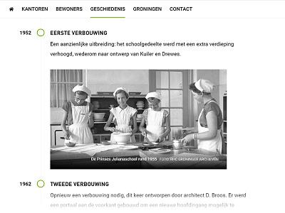 Timeline bootstrap caption gallery history timeline