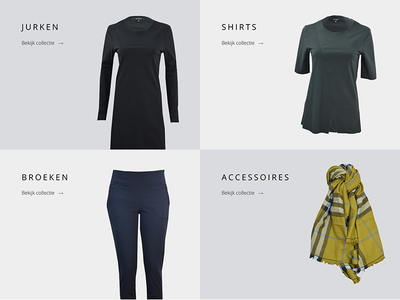 Product Groups shop product minimal homepage catalog