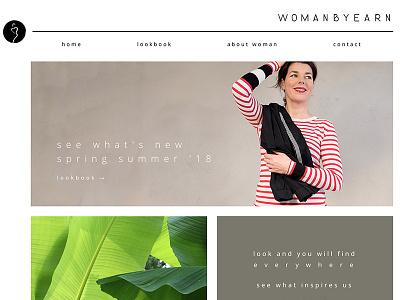 Fashion brand website white space light website minimal fashion