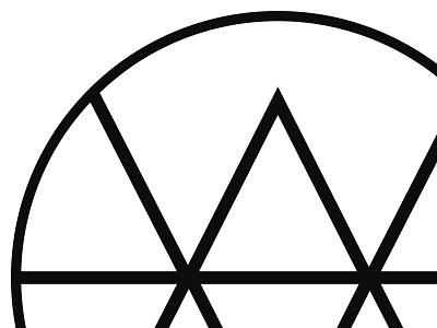 Logo minimalistic simple lines logo