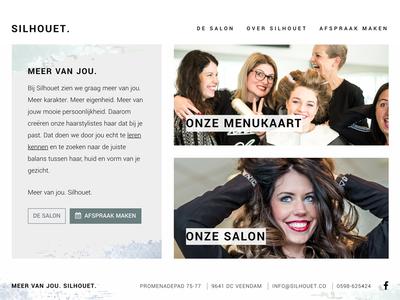 Beauty salon block bootstrap salon beauty minimal