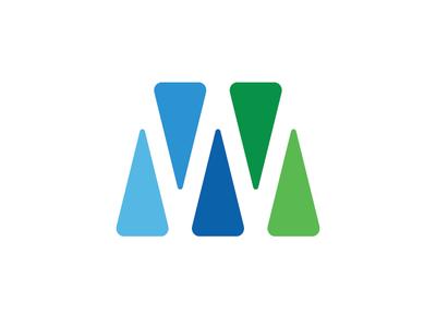 W — symbol design. cool brand construction young freelance identity agency designer logotype logo