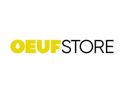 Oeuf (egg) store — logotype design.