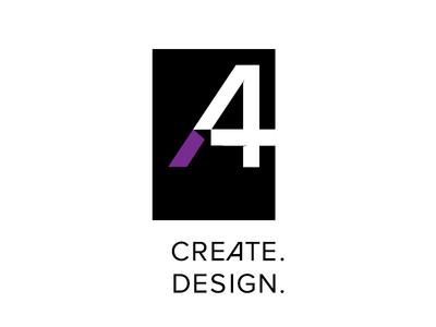 A4 create. design — logotype design.
