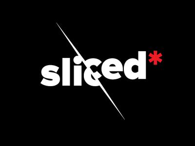 Sliced — logo design. designinspiration logoinspire designers creatives creative logotypedesign logotype branding brandidentity brand a4create graphicdesign