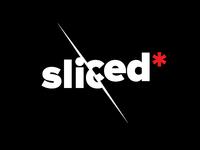 Sliced — logo design.