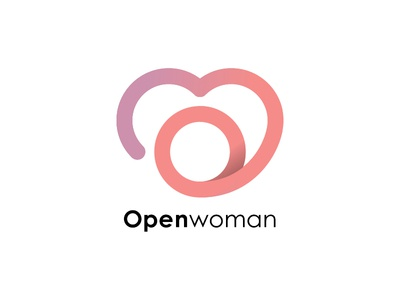 Openwoman — logotype in work.