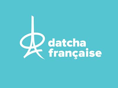 Datcha Francaise Logotype (Nearly Final Version) design branding designer identity cool freelance brand logotype