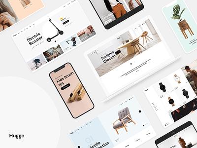 Hugge - Elementor WooCommerce Theme woocommerce modern uiux design theme wordpress