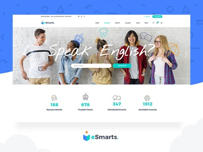 Esmarts Theme university tutor training teaching quizzes online lessons lms lessons learning center learning app learning forums education classes bbpress