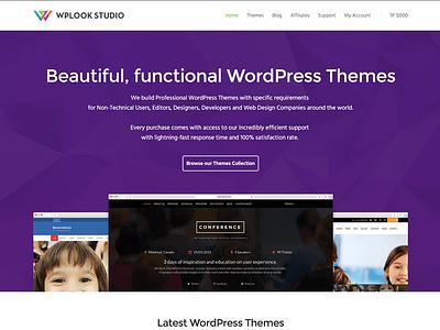 WPlook Website wplook wordpress themes wordpress themes