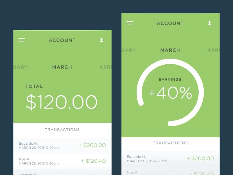 Money App Sketch free resource sketch app ui money bank stat