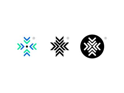 Logos Proposal gometric lines circle type simple logos