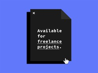 Available Freelancer