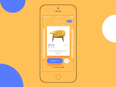 Yellow Shop ui ecommerce inteface experiment mobile ios shop.iphone