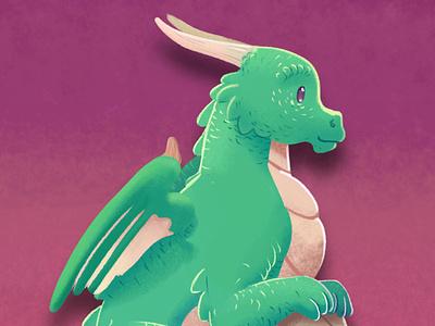 Sky crystal : Dragons reserve children book illustration fantasy medibang dragon illustration