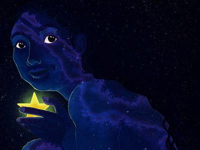 Nout: Mother of stars contest clip studio paint illustration