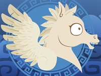 Silly Bestiary: Pegasus