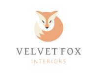 Velvet Fox Logo Concept