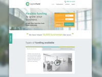 Capital Fund Website Design