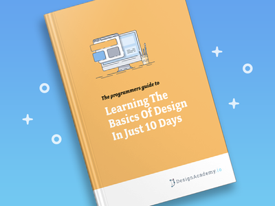 Learn the basics of design in just 10 days! free course course ebook cover book design academy