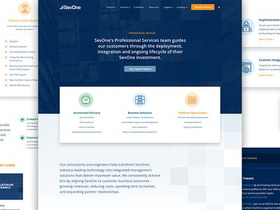 SevOne Services Page