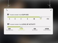 Shock Absorber UI Controls