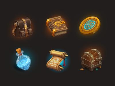 MMORPG Gaming Icons