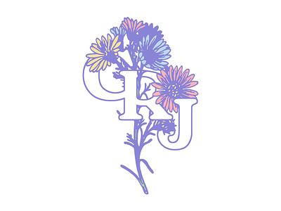Carly Rae Jepsen - Bouquet illustration identity branding logo typography type daisies flowers