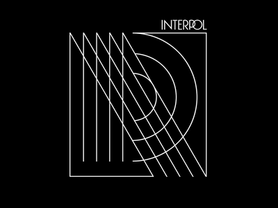 Interpol - Refraction apparel geometry abstract illustration linework