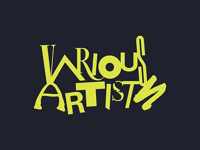 Various Artists illustration metal punk branding identity logo