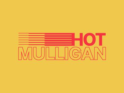 Hot Mulligan - Speed Racer racing apparel streetwear branding identity logo typography type