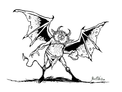 Demon of Hearts comic art humorous heart demon cartoons cartooning character design character art digital art digital illustrations illustrations