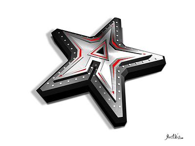American Iron Logo 3d logos logos
