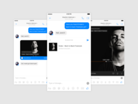 Facebook Messenger Concept