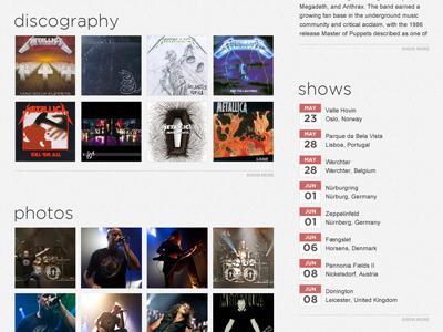 band profile wp7 music windows phone 7 band profile