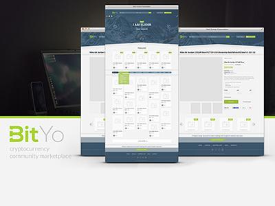 BitYO UI/UX Design web uiux ecommerce ui ux web ui