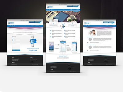PTPRO Web UX Design professional web ui ux tech ui gym fitness ui ptpro
