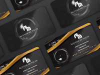 Alistair Photography Business Card and logo