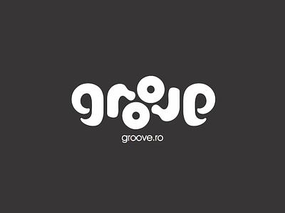 Groove design lettering identity logotype branding