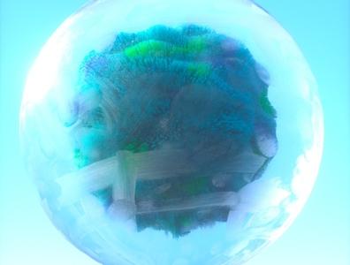 OrbZ ball abstract 3d octane