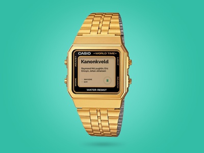 Casio digital watch mockup web design mockup webdesign design website site web