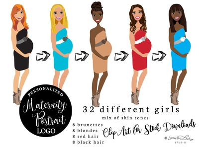 Maternity Vector Art