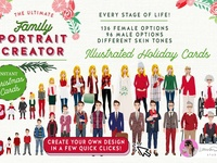 Christmas Family Portrait Creator